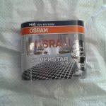 Лампочки Osram H4 (12 v , 60/55 w) Silverstar 2.0