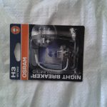 Лампочки Osram H3 12V 55W Night Breaker