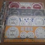 Декоративная накладка на щиток приборов ВАЗ 2108 высокая панель