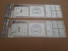 Декоративная накладка на щиток приборов ВАЗ 2108 низкая панель